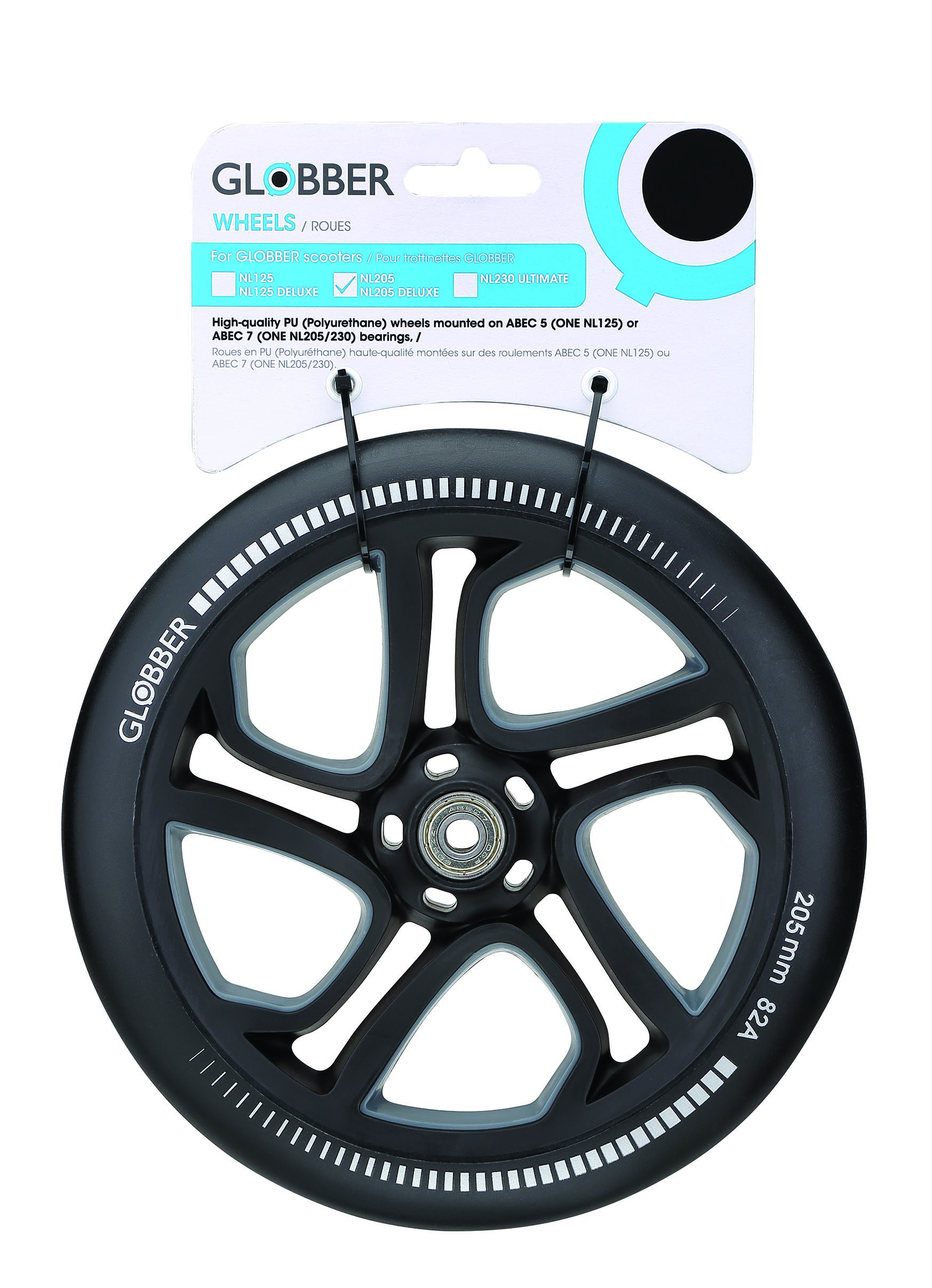 "Колесо ""Globber"" ONE NL 205 wheel - one wheel - / Черный (526-014)"